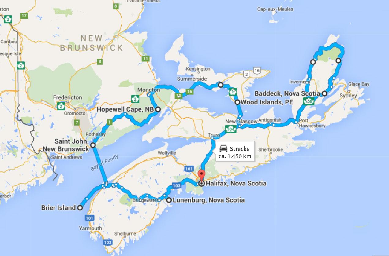 Sunshine Nova Scotia Tour