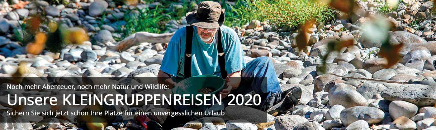 Abenteuer, Natur und Wildlife: Unsere Kleingruppenreisen 2020