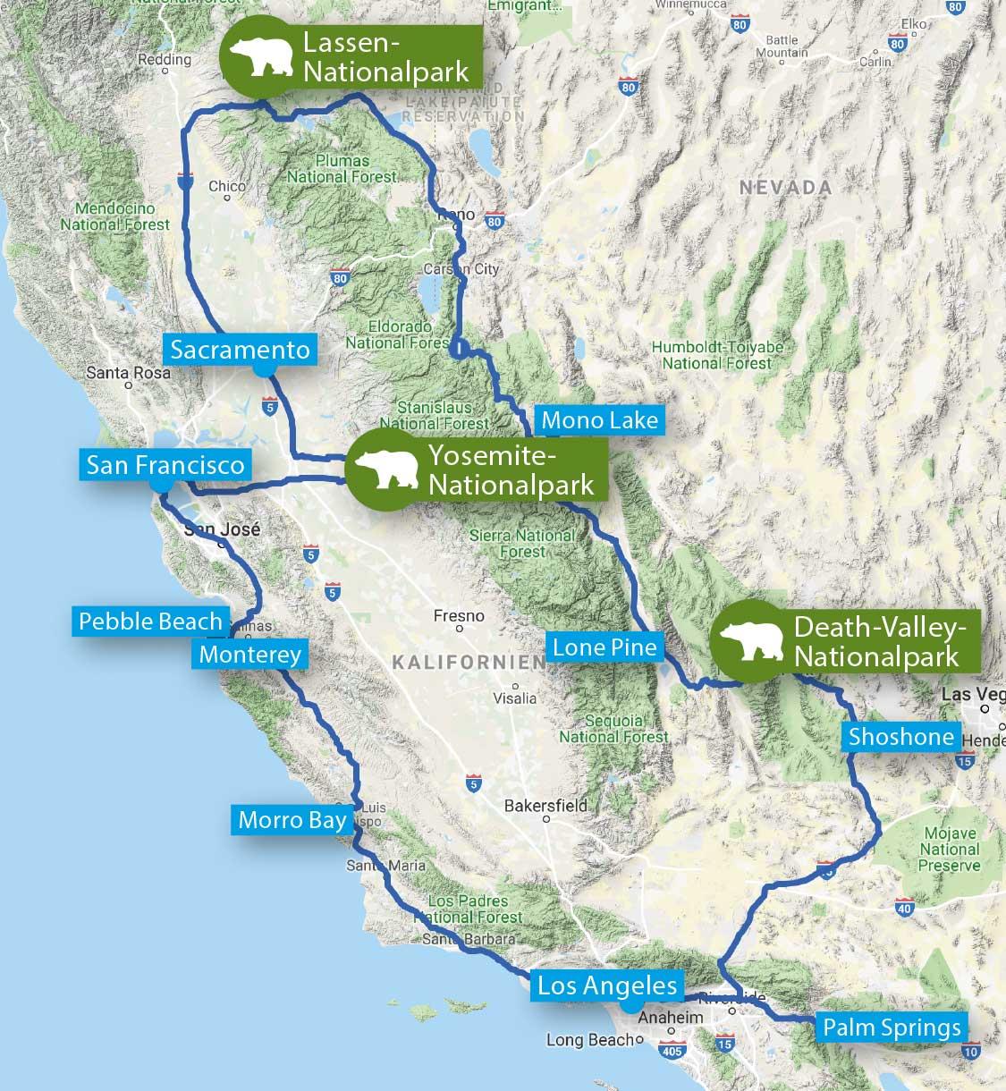 USA – Kalifornien: Der »Goldene Westen«