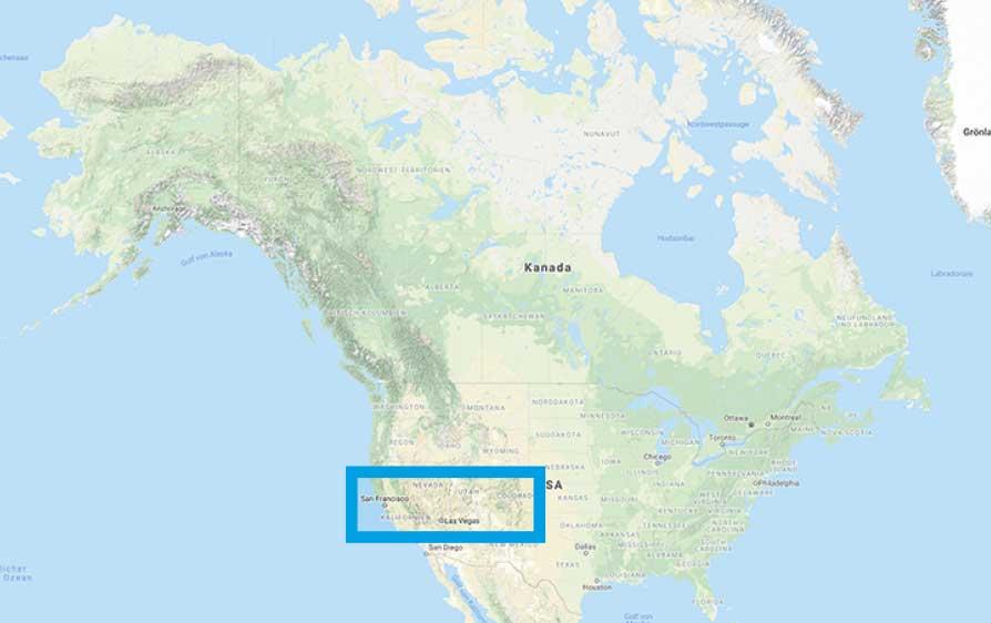Erlebnisreise Westen USA